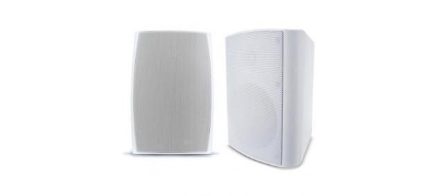 Weatherproof Outdoor 6 5 U0026quot  Speakers In White